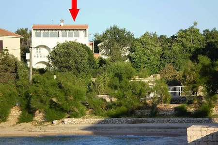Two bedroom apartment with balcony and sea view Vinjerac, Zadar (A-5824-a) - Vinjerac