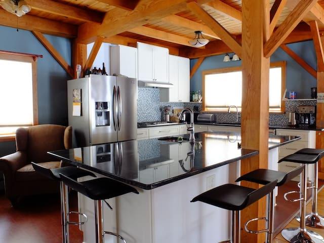 Elegant & Cozy Mad River Valley Home - Moretown - Hus