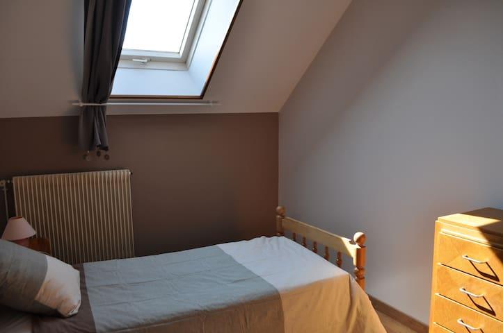 La petite chambre d'en haut (1 lit simple)
