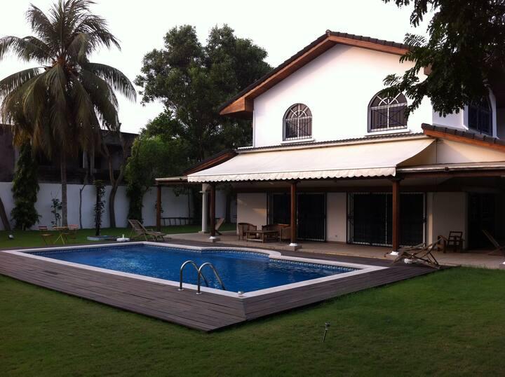Chambre dans Villa Tropicale Sélecte