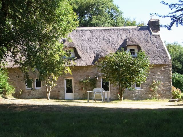 BRETAGNE, Ferienhaus, GUERNÉGUY,  Sud-Finistère - Clohars-Carnoët - Gästhus