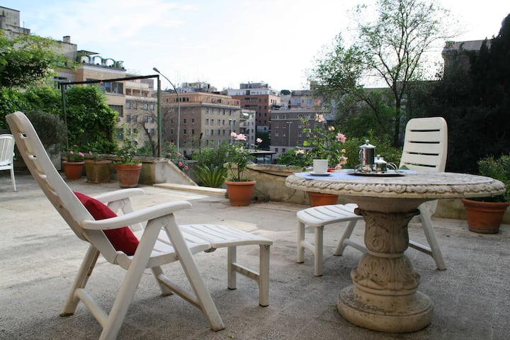 Terrace in Rome Parioli