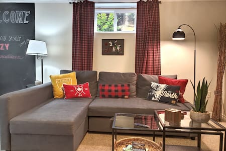 Cozy Canadiana-Basement (monthly rental)