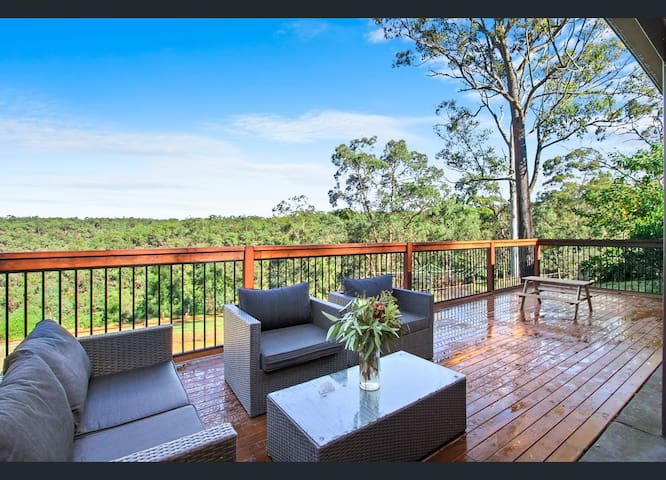 Deck and Valley View