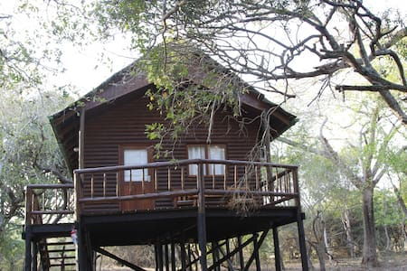 Treehouse in private game reserve - Hluhluwe
