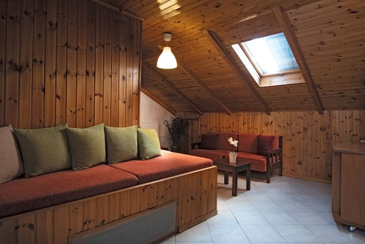 The Skylight Attic Room  - Nantin Hotel Ioannina