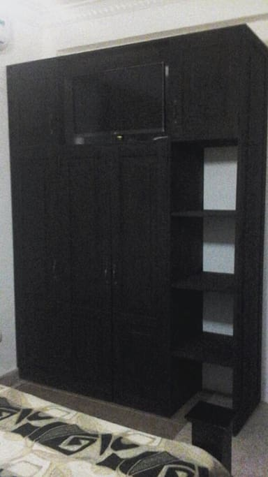 Closet y TV