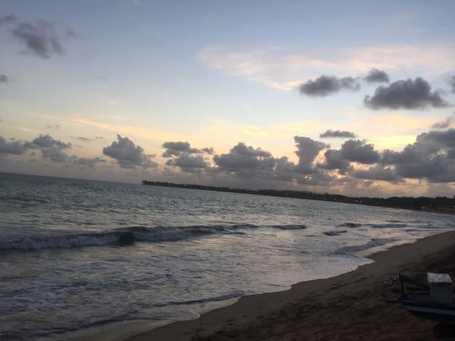 Casa de praia reformada,4/4 - Barra de Santo Antônio - Rumah