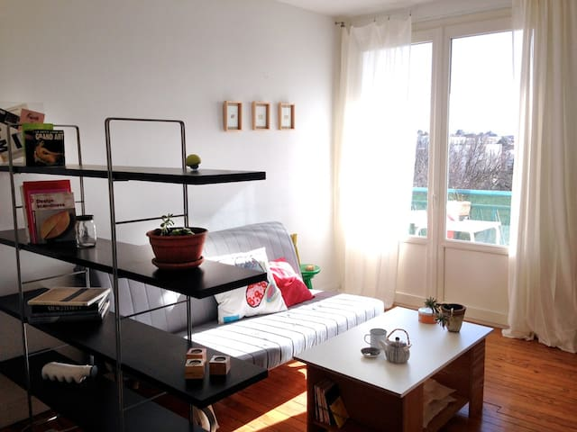 JOLI STUDIO CENTRE terrasse+stat.pub.gratuit+wifi - Toulouse - Apartment