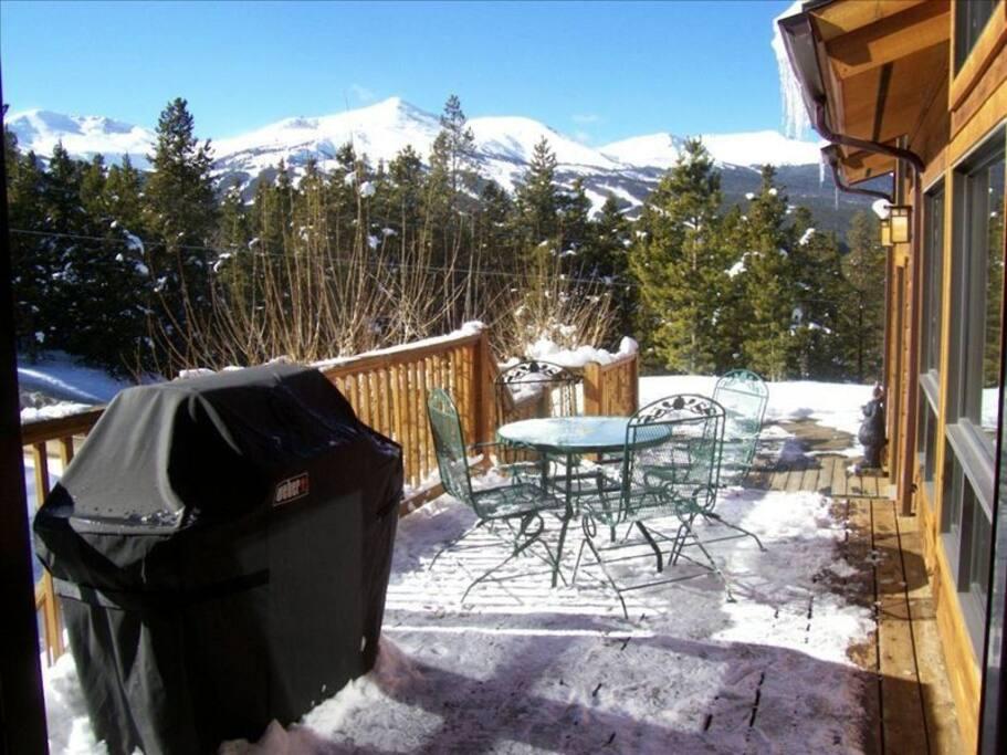 View to Breckenridge Ski Resort