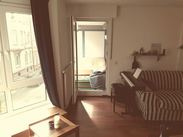 Cozy, cozy room (near Dortmund, Bochum and Essen) - Witten - Huoneisto