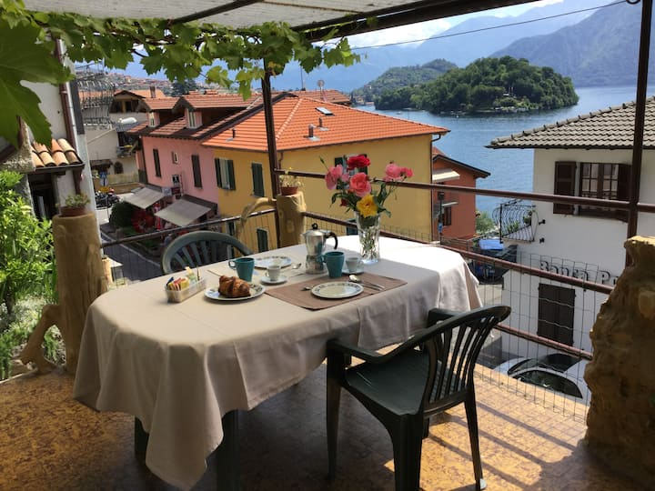 Casa Giulia on lake Como with WI-FI