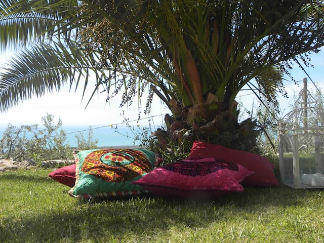 Lovely apt  with garden in Villa Basso , Gargano