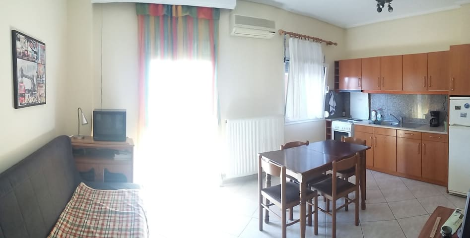 Comfortable apartment in the old town of Kavala.