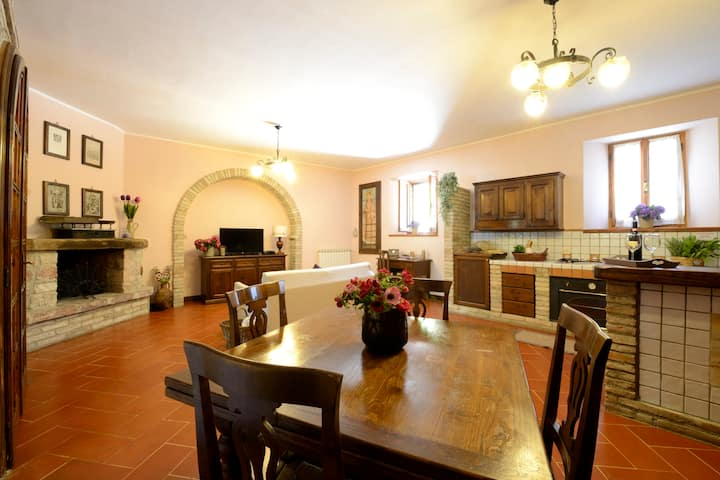Apartments Umbrian countryside - 4/6 people