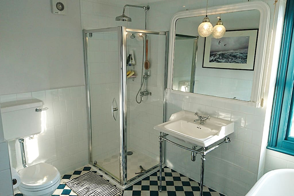 The bathroom, for our guests only (we use a separate one)