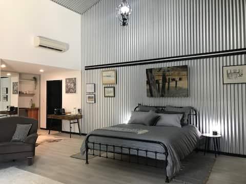 """창고에 있는 침대... """"커비 하우스"""""""