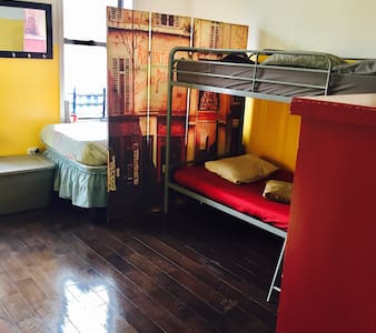Single Bed Shared Room - Brooklyn - Apartment