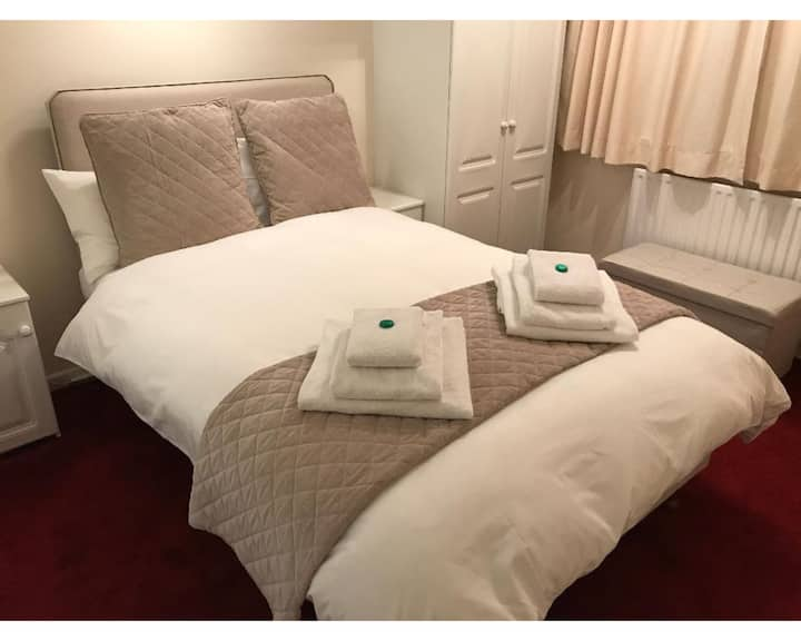 Double room at Beaumont Rise B&B