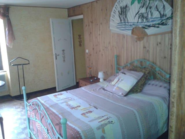 Chambres /vallée luchon/été-hiver/ - Guran - Casa