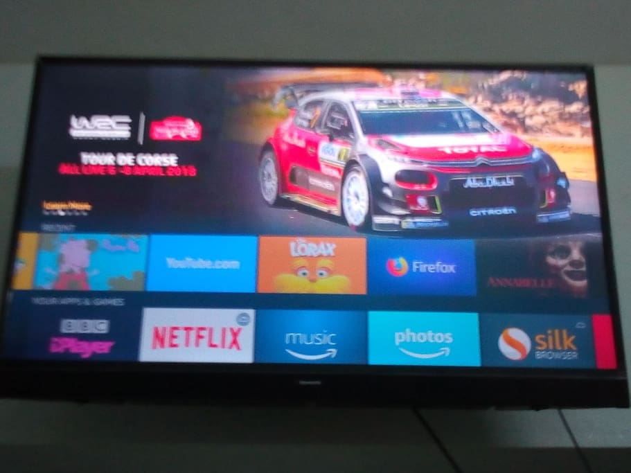 Smart TV with Amazon Fire Stick