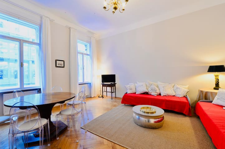 Beautiful Viennese Flat in the City Centre