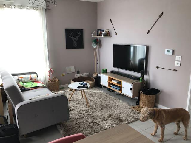 Chambre dans appartement neuf - La Soie