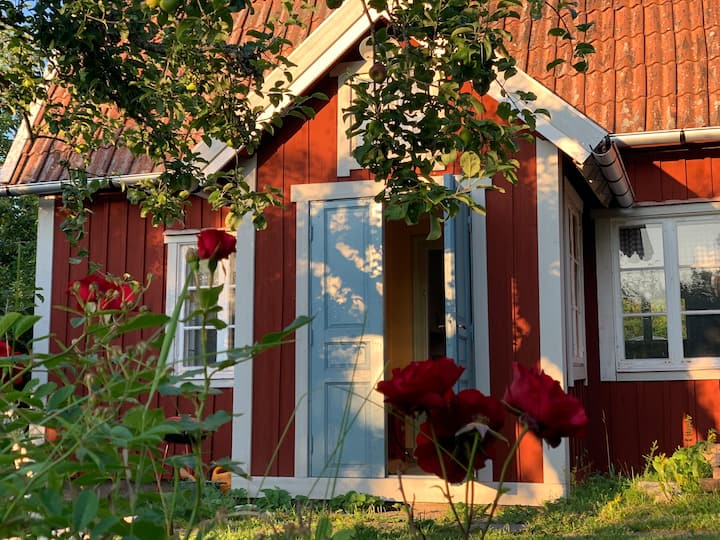 Sweet Swedish cottage in a historical setting