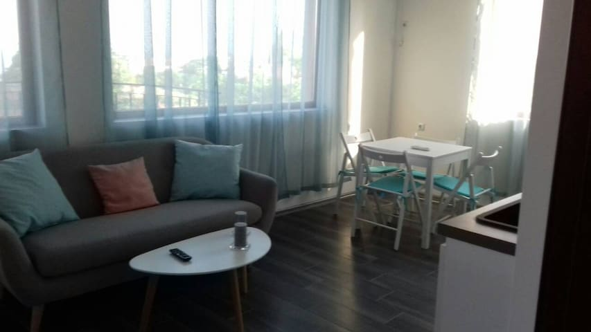 Apartament with two bedrooms and sea view