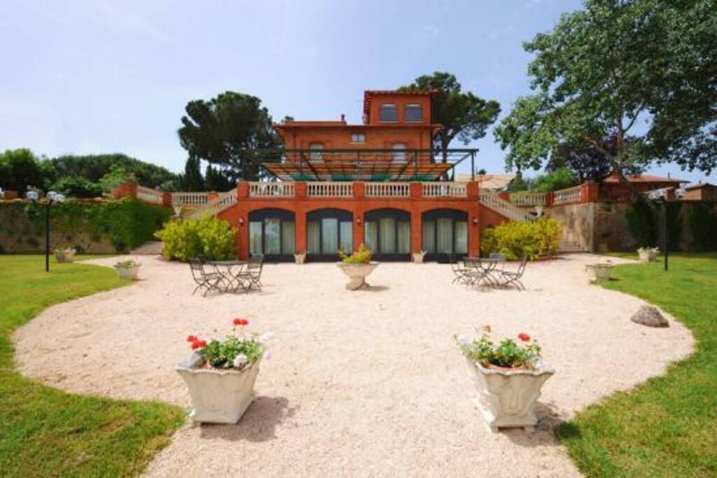 La villa dal Giardino all'italiana