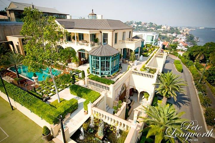 Opulent Mansion in Brisbane's Heart - Queen Room 1 - Hamilton - Dom