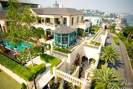 Opulent Mansion in Brisbane's Heart - Queen Room 1 - Hamilton - Ev