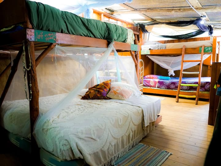 Bunk Bed (Double) w/ Meals - Permaculture Farm