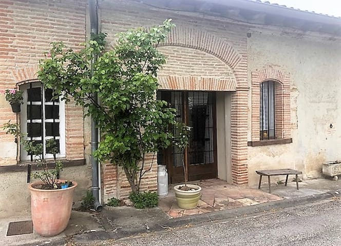Maison de village au cœur de Caubiac