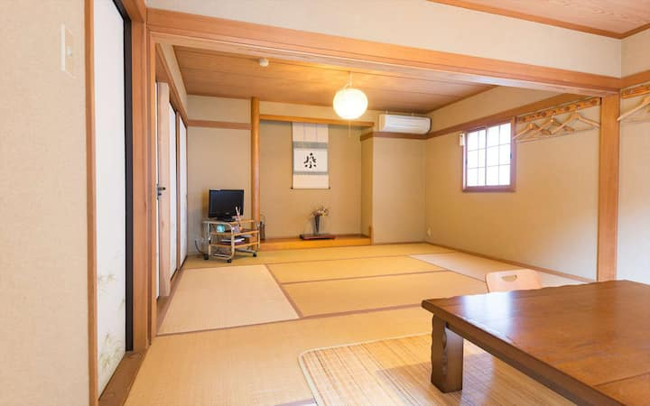 ★4ppl Room Only/Japanese-Style with Shared Bath