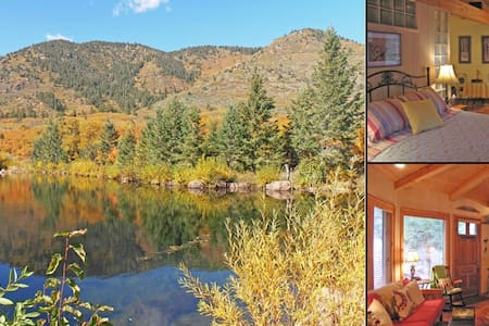 Serene & Beautiful Colorado Cottage on the Creek - Colorado Springs
