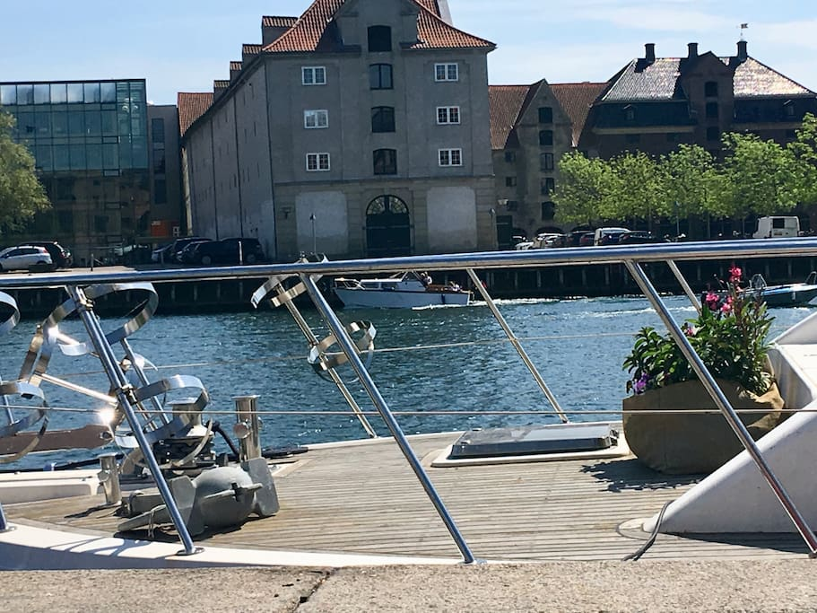 Amazing and spacious yacht in the city center boote zur for Kopenhagen unterkunft