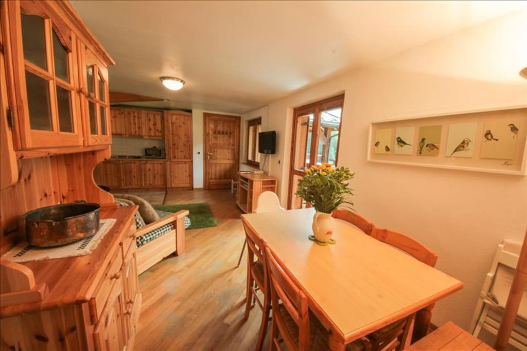 Rent Apartment Les Houches | Dining area