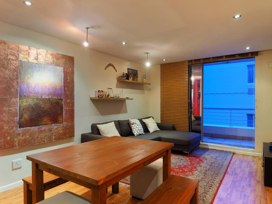 Spacious living areas with large windows.