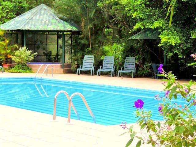 Lands in love hotel, resort & adventure center