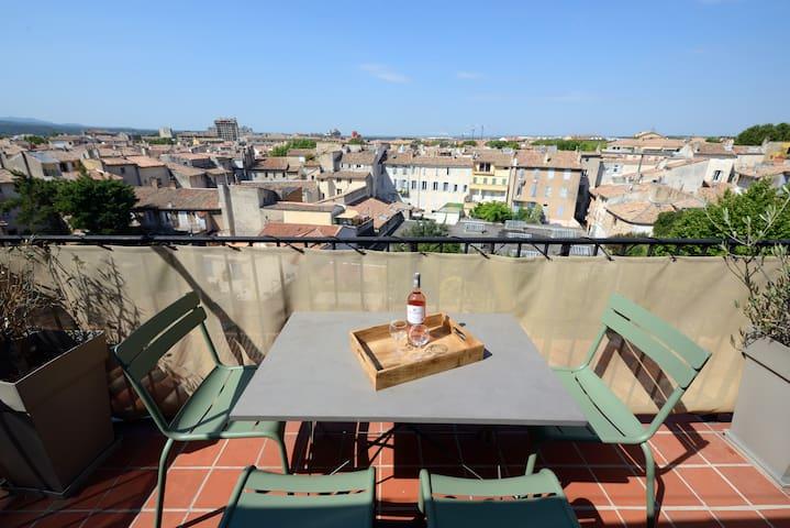 Super terrasse hypercentre appart  vraie clim