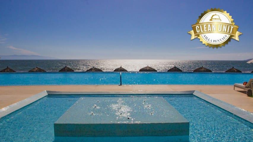 New Lux Oceanfront 2BR+Den PENINSULA NuevoVallarta