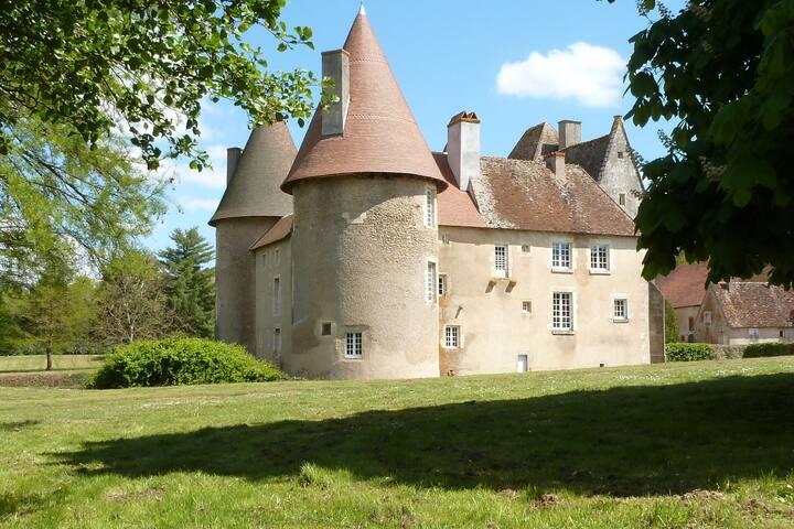 Château du Marais B&B : Chambre de la Poterne