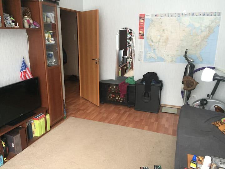 Квартира в близком пригороде Петербурга до 5 чел