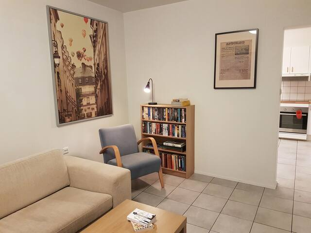 Light, spacious apartment in Siglo - Siglufjörður - Appartement