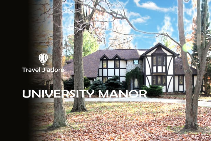 University Manor (luxury house near MSU campus)
