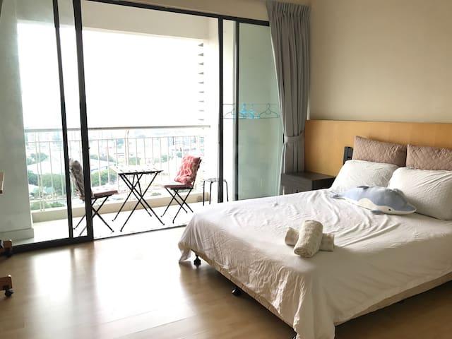 Cozy studio KLCC View,Velocity,IKEA - Kuala Lumpur  - Apto. en complejo residencial