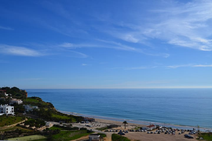 Beach Apartment | 6 Min walk to Praia Porto de Mos | Luxury interiors | Pool