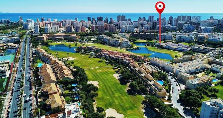 Almoraima Playa y Golf Duplex  (WiFi+A/A+Parking)