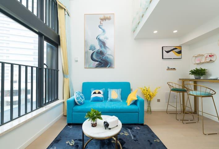 loft复式轻奢主题公寓